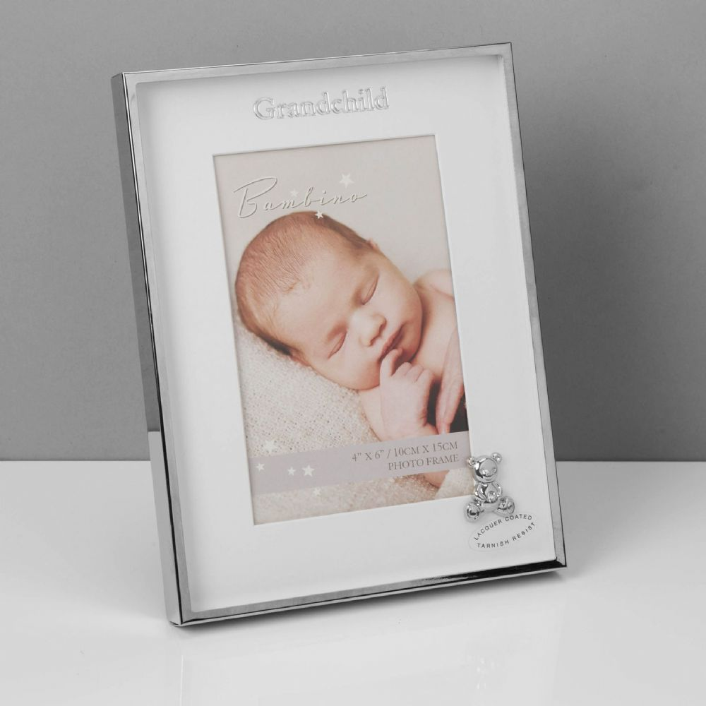 Grandchild Silverplated Photo Frame